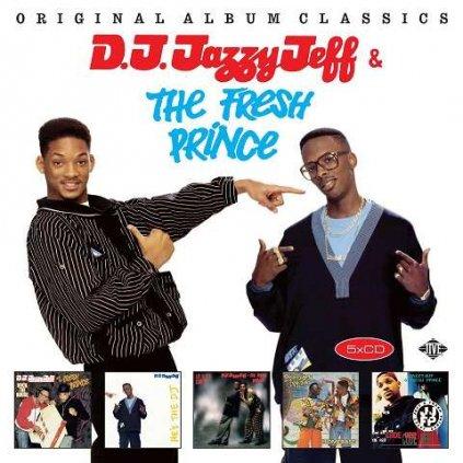 VINYLO.SK | DJ JAZZY JEFF & THE FRESH - ORIGINAL ALBUM CLASSICS [5CD]