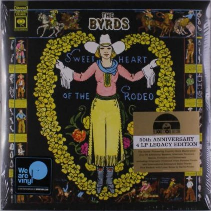 VINYLO.SK   BYRDS - SWEETHEART OF THE RODEO [4LP]