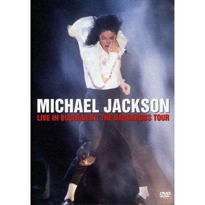 VINYLO.SK | JACKSON, MICHAEL - LIVE IN BUCHAREST: THE DANGEROUS TOUR [DVD]