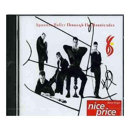 VINYLO.SK | SPANDAU BALLET - THROUGH THE BARRICADES [CD]