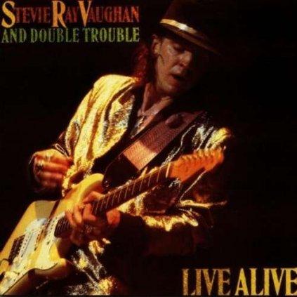 VINYLO.SK | VAUGHAN, STEVIE RAY - LIVE ALIVE [CD]