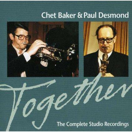 VINYLO.SK | BAKER, CHET / PAUL DESMOND - TOGETHER [CD]