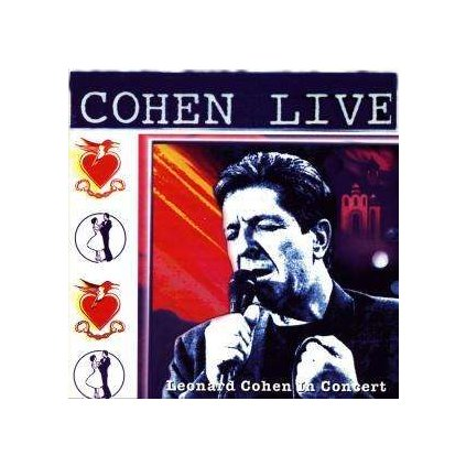 VINYLO.SK | COHEN, LEONARD - COHEN LIVE [CD]
