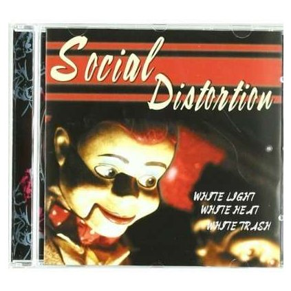 VINYLO.SK | SOCIAL DISTORTION - WHITE LIGHT WHITE HEAT WHITE TRASH [CD]