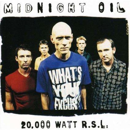 VINYLO.SK | MIDNIGHT OIL - 20.000 WATTS RSL [CD]