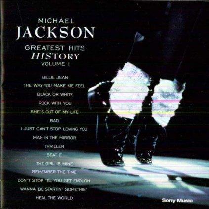 VINYLO.SK | JACKSON, MICHAEL - GREATEST HITS HISTORY 1 [CD]