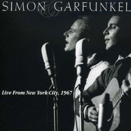 VINYLO.SK | SIMON & GARFUNKEL - LIVE FROM NEW YORK CITY, 1967 [CD]