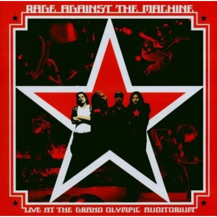 VINYLO.SK | RAGE AGAINST THE MACHINE - LIVE AT THE GRAND OLYMPIC AUDITORIUM [CD]
