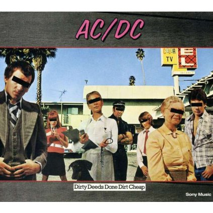 VINYLO.SK | AC/DC - DIRTY DEEDS DONE DIRT CHEAP [CD]