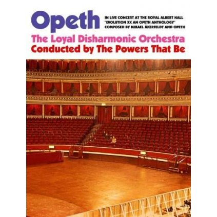 VINYLO.SK | OPETH ♫ IN LIVE CONCERT AT THE ROYAL ALBERT HALL [2DVD] 0016861091996