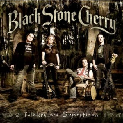 VINYLO.SK | BLACK STONE CHERRY ♫ FOLKLORE AND SUPERSTITION [CD] 0016861794026