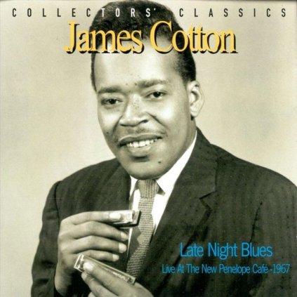 VINYLO.SK | Cotton James ♫ Late Night Blues [CD] 0068944914029