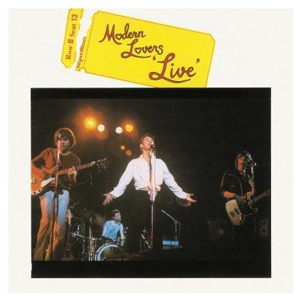 VINYLO.SK | MODERN LOVERS - LIVE (LP)180GR./1000 NUMBERED COPIES ON YELLOW VINYL