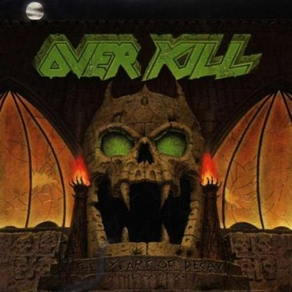 VINYLO.SK | OVERKILL ♫ THE YEARS OF DECAY [CD] 0075678204524