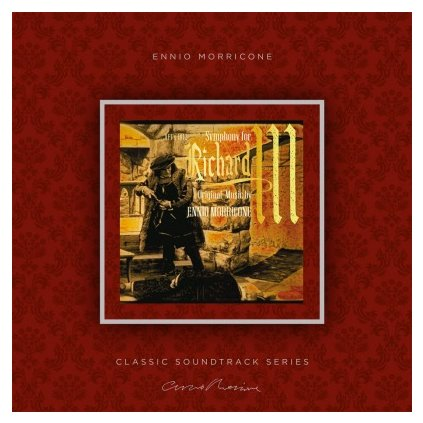 VINYLO.SK   MORRICONE, ENNIO - SYMPHONY FOR RICHARD III (OST) (LP)180GR./INSERT/OST/PVC SLEEVE/1000 CPS TRANSPARENT VINYL