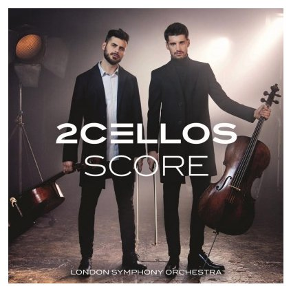 VINYLO.SK | TWO CELLOS - SCORE (2LP)180GR./GATEFOLD/INSERT/PVC SLEEVE
