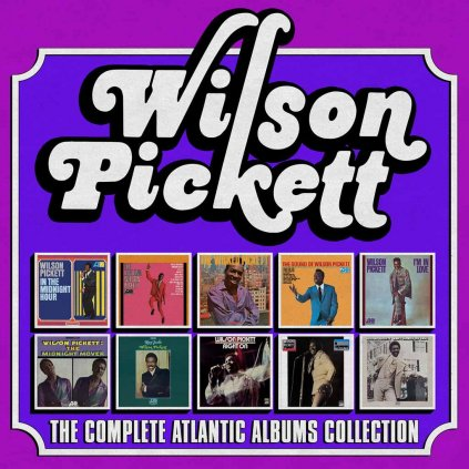 VINYLO.SK | PICKETT, WILSON ♫ THE COMPLETE ATLANTIC ALBUMS COLLECTION [10CD] 0081227933685