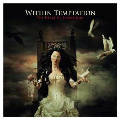 VINYLO.SK | WITHIN TEMPTATION - HEART OF EVERYTHING (2LP)180GR/GATEFOLD/4P BOOKLET/LITHO/5000 CPS COLOURED VINYL