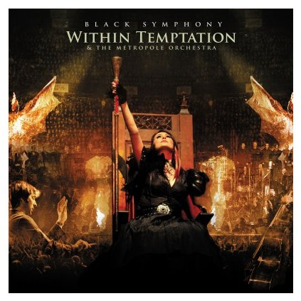 VINYLO.SK | WITHIN TEMPTATION - BLACK SYMPHONY (3LP)180GR./TRIFOLD/8P BOOKLET/5000 CPS GOLD & RED MARBLED
