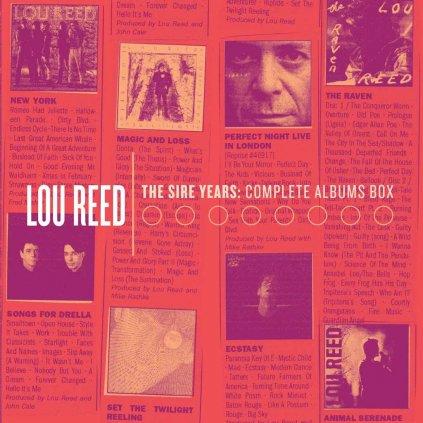 VINYLO.SK | REED, LOU ♫ SIRE YEARS: COMPLETE ALBUM [10CD] 0081227951986