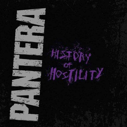VINYLO.SK | PANTERA ♫ HISTORY OF HOSTILITY / COLOURED/FAREBNÝ VINYL [LP] 0081227952228