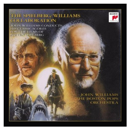 VINYLO.SK | WILLIAMS, JOHN - SPIELBERG/WILLIAMS COLLABORATION (2LP)..COLLABORATION//180GR/GATEFOLD/1500 CPS COLOURED VINYL
