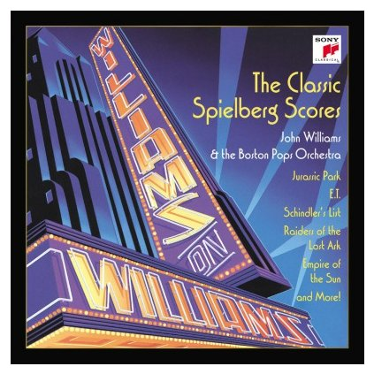 VINYLO.SK | WILLIAMS, JOHN - WILLIAMS ON WILLIAMS (2LP).. WILLIAMS//180GR./STEVEN SPIELBERG/1500 CPS COLOURED