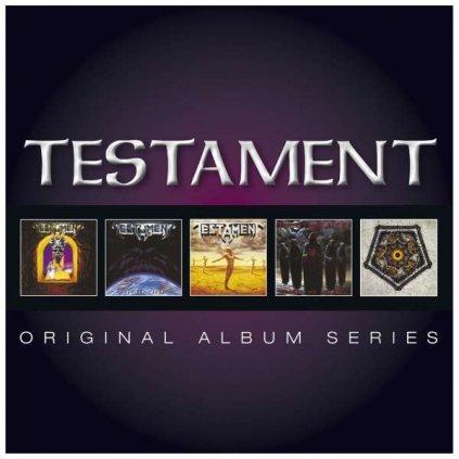 VINYLO.SK | TESTAMENT ♫ ORIGINAL ALBUM SERIES [5CD] 0081227965105