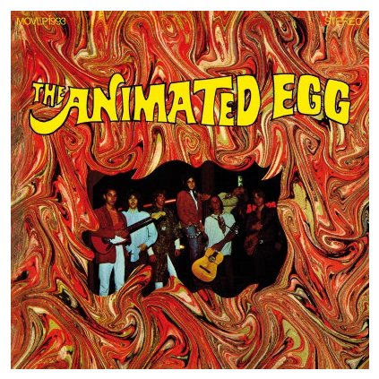 VINYLO.SK | ANIMATED EGG - ANIMATED EGG (LP)180GR./750 NUMBERED COPIES ON ORANGE MARBLED VINYL
