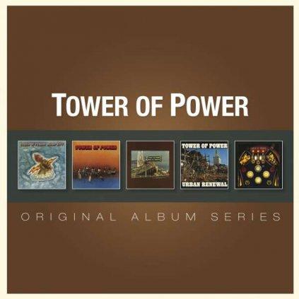 VINYLO.SK | TOWER OF POWER ♫ ORIGINAL ALBUM SERIES [5CD] 0081227968311