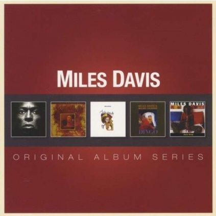 VINYLO.SK | DAVIS, MILES ♫ ORIGINAL ALBUM SERIES [5CD] 0081227971953