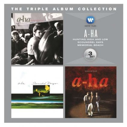 VINYLO.SK   A-HA ♫ THE TRIPLE ALBUM COLLECTION [3CD] 0081227972523