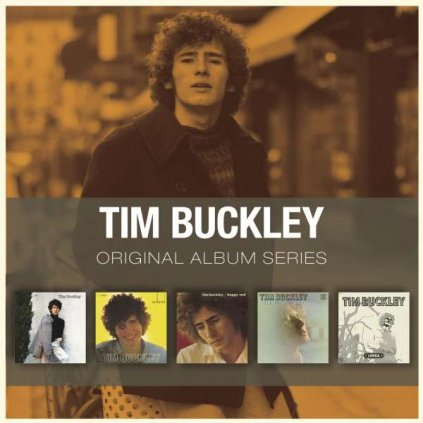 VINYLO.SK | BUCKLEY, TIM ♫ ORIGINAL ALBUM SERIES [5CD] 0081227975388