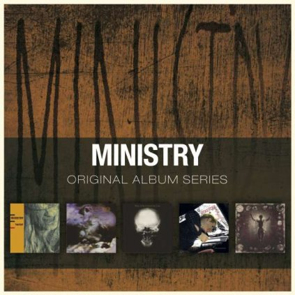 VINYLO.SK | MINISTRY ♫ ORIGINAL ALBUM SERIES [5CD] 0081227975418