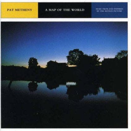 VINYLO.SK | OST ♫ A MAP OF THE WORLD (PAT METHENY) [CD] 0093624736622