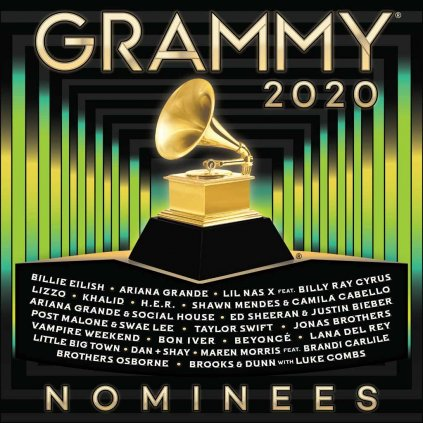 VINYLO.SK | RÔZNI INTERPRETI ♫ 2020 GRAMMY NOMINEES [CD] 0093624896364