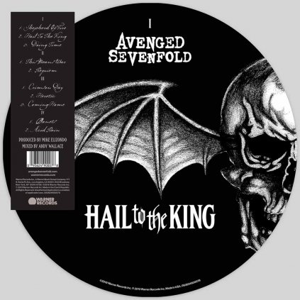 VINYLO.SK | AVENGED SEVENFOLD ♫ HAIL TO THE KING / PICTURE DISC [2LP] 0093624900078