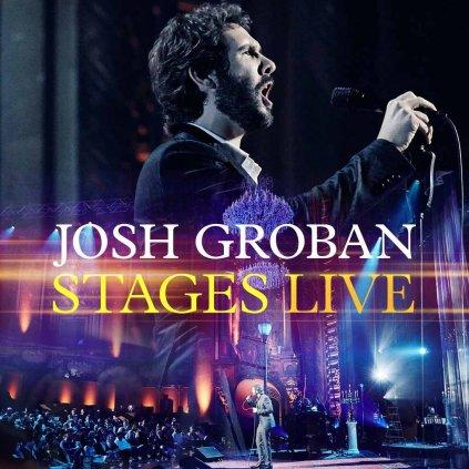 VINYLO.SK | GROBAN, JOSH ♫ STAGES LIVE [CD + DVD] 0093624921493