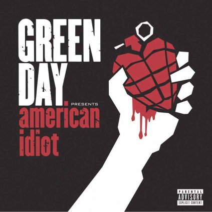VINYLO.SK | GREEN DAY ♫ AMERICAN IDIOT / Special Limited Edition / RED, WHITE, BLACK VINYL [2LP] 0093624922810