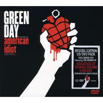 VINYLO.SK | GREEN DAY ♫ AMERICAN IDIOT / Special [CD + DVD] 0093624939122