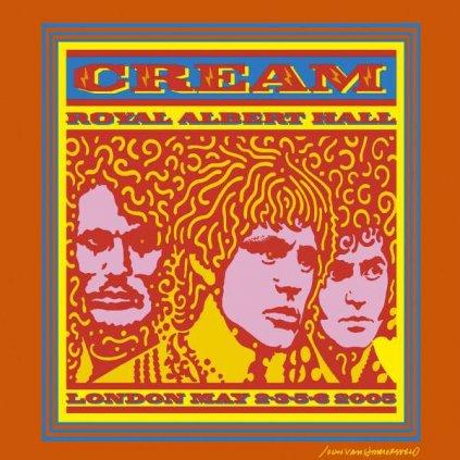 VINYLO.SK | CREAM ♫ ROYAL ALBERT HALL LONDON MAY 2-3-5-6 2005 [2CD] 0093624941620