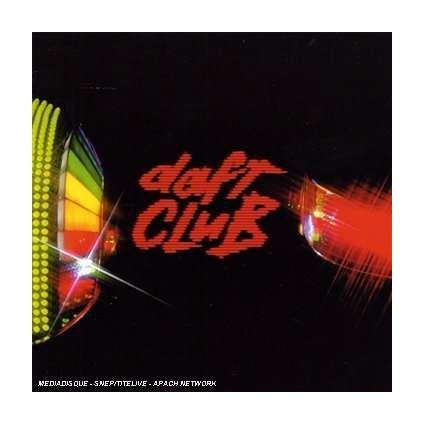 VINYLO.SK | DAFT PUNK ♫ DAFT CLUB [CD] 0094639218301