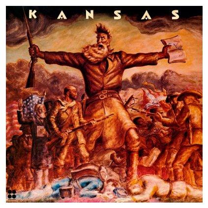 VINYLO.SK | KANSAS - KANSAS (LP)180GR./RE-ISSUE 1974 DEBUT/2000 CPS TRANSPARENT VINYL