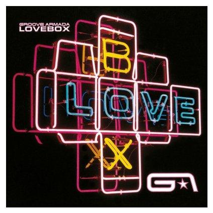 VINYLO.SK | GROOVE ARMADA - LOVEBOX (2LP)180GR./GATEFOLD/INSERT/2000 CPS TRANSPARENT BLUE VINYL
