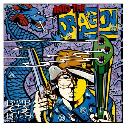 VINYLO.SK | BOMB THE BASS - INTO THE DRAGON (LP)180GR./INSERT/30TH ANN./1500 NUMBERED CPS ON BLUE VINYL