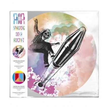VINYLO.SK | AIR ♫ SURFING ON A ROCKET / RSD [LP] 0190295515027