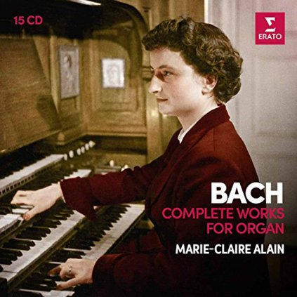 VINYLO.SK | ALAIN, MARIE-CLAIRE ♫ BACH: COMPLETE ORGAN WORKS (1ST ANALOGUE VERSION) [15CD] 0190295634537