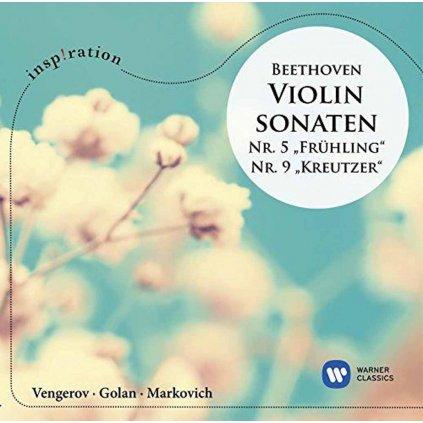 VINYLO.SK | VENGEROV, MAXIM ♫ BEETHOVEN: VIOLINSONATEN NR. 5 'FRUHLING' & NR. 9 'KREUTZER' [2CD] 0190295655945