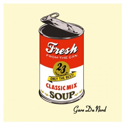 VINYLO.SK | GARE DU NORD - FRESH FROM THE CAN (2LP)180GR./INNERSLEEVE/1000 COPIES ON TRANSPARENT VINYL