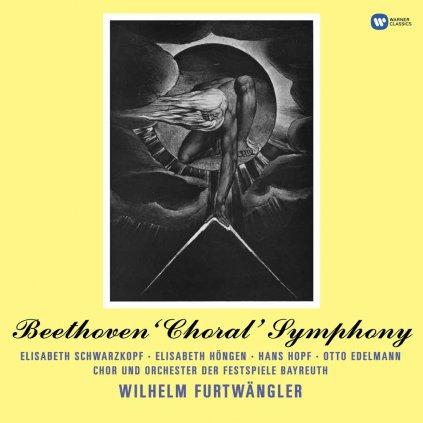 VINYLO.SK   BAYREUTH / WILHELM FURTWAENGLER ♫ BEETHOVEN: SYMPHONY NO. 9 [2LP] 0190295895730